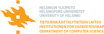 University of Helsinki - Department of computer science